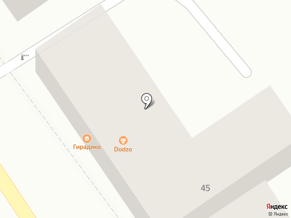 Гирадико-1 на карте Пятигорска