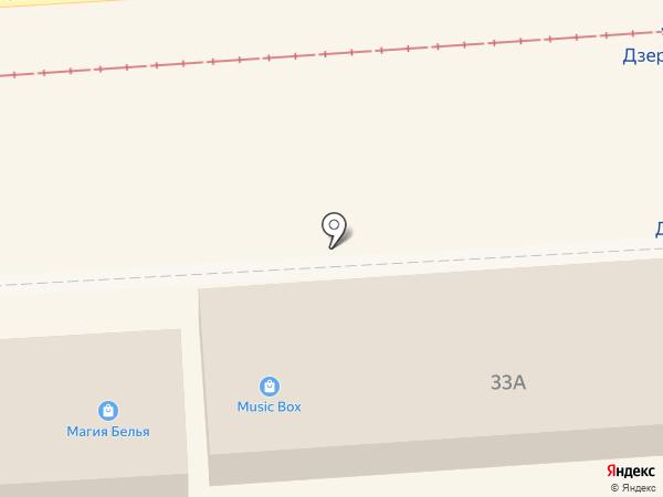 Цифроград на карте Пятигорска
