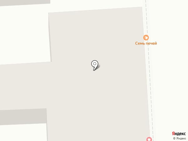 Индент на карте Пятигорска