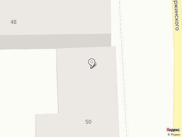 КУБ на карте Пятигорска