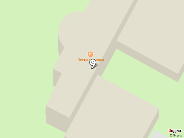 Шалаши на карте Пятигорска