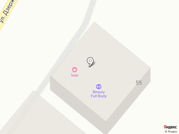 Solo на карте Пятигорска