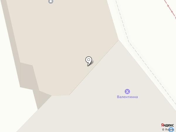 ВалентИнна на карте Пятигорска