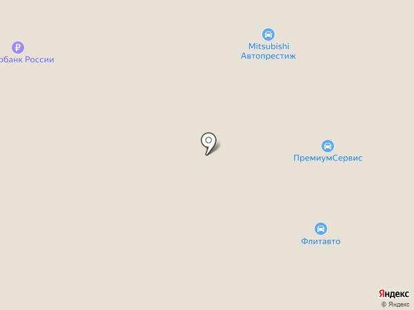 Форд Центр на карте Минеральных Вод