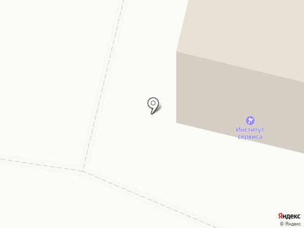 Институт сервиса и технологий на карте Пятигорска