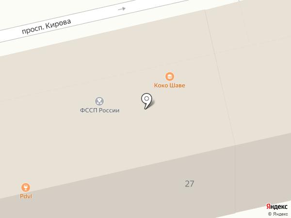 Ечевский club на карте Пятигорска