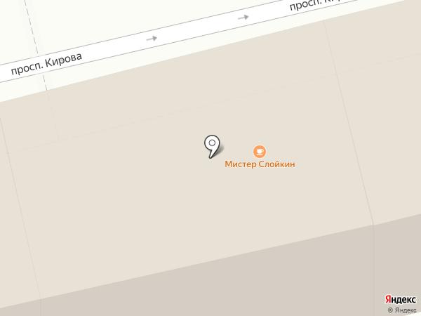 На Кирова 27 на карте Пятигорска