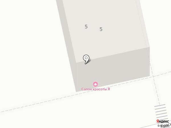 Я на карте Пятигорска