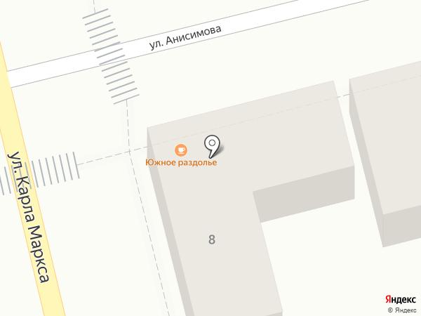 Восточный базар на карте Пятигорска
