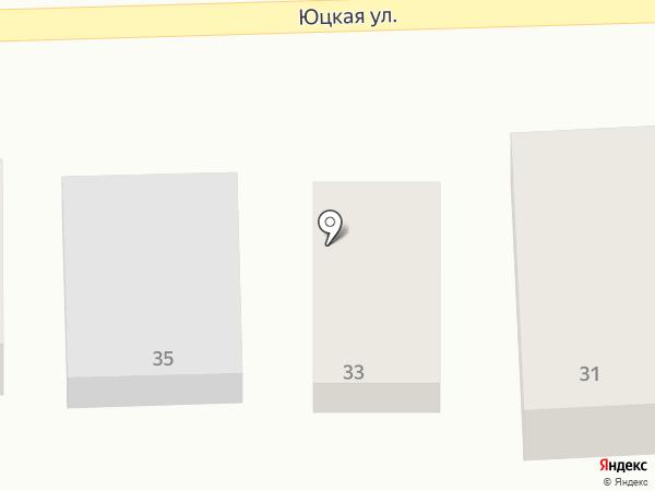 Оранжэ на карте Горячеводского