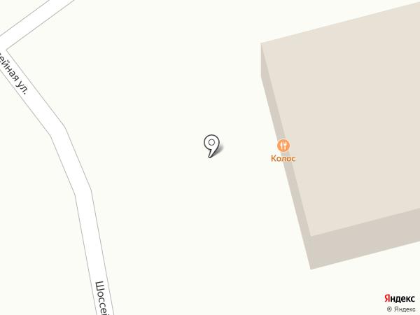 Колос на карте Горячеводского