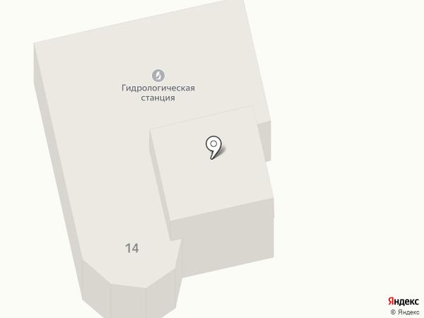 Гидрометеорологическая станция на карте Пятигорска