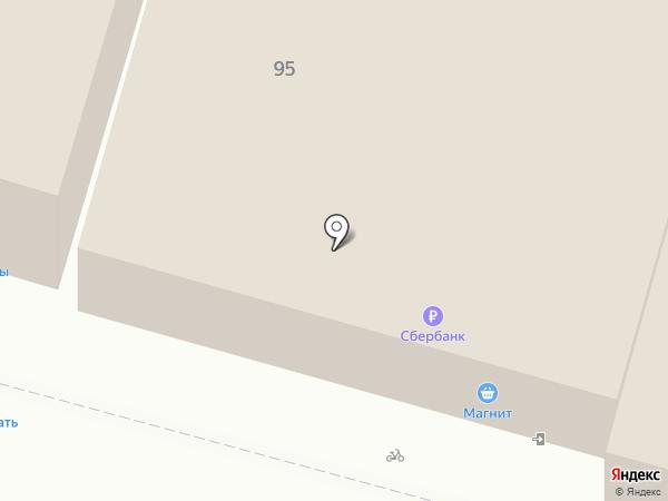 Банкомат, Газпромбанк на карте Железноводска