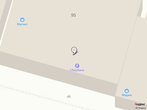 Банкомат, Сбербанк, ПАО на карте Железноводска