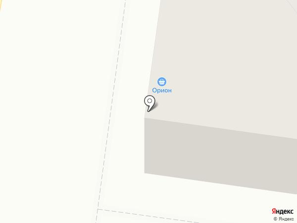 Орион на карте Железноводска