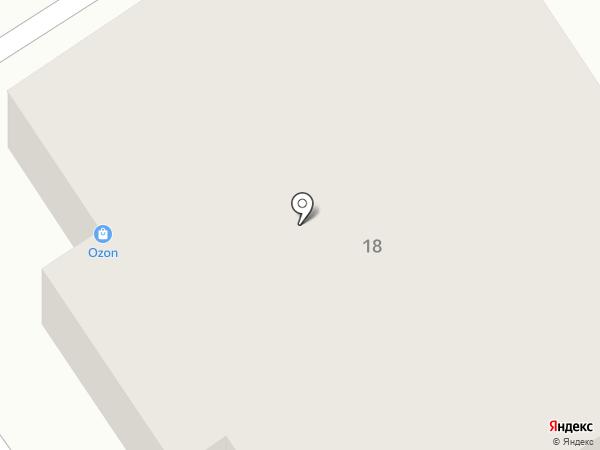 Югэнергоремонт на карте Пятигорска