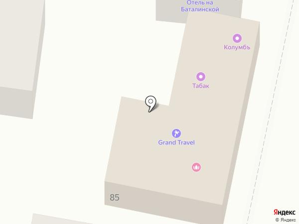 Старый дворикъ на карте Железноводска