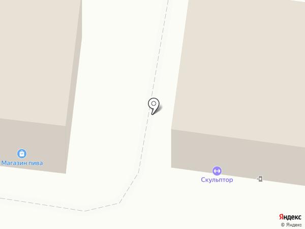 Скульптор на карте Железноводска