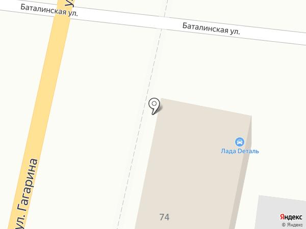 Эталон на карте Железноводска