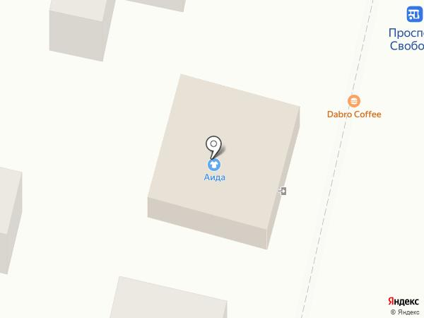 Кирк на карте Железноводска