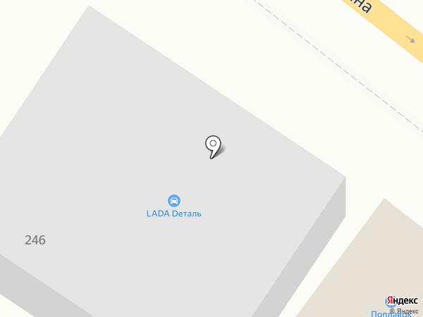 LadaDеталь на карте Пятигорска