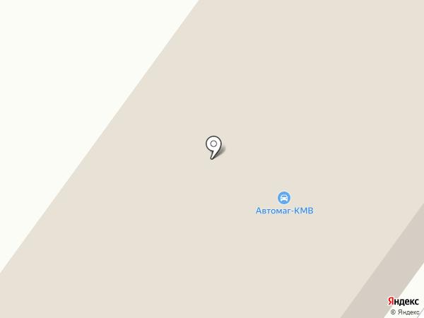 Автомаг-КМВ на карте Железноводска
