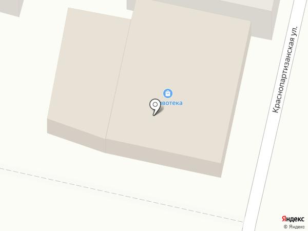 Простор на карте Горячеводского