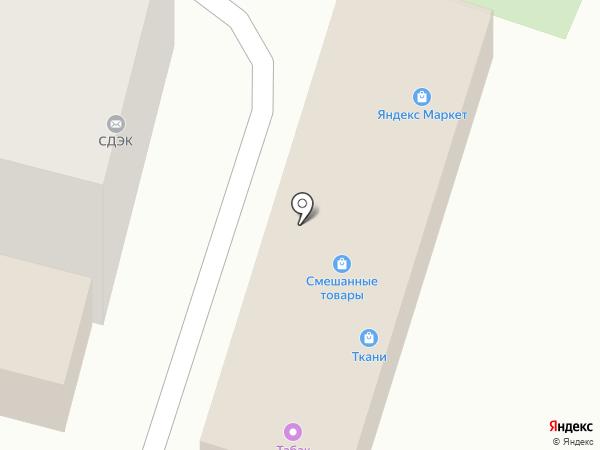 Городок на карте Железноводска