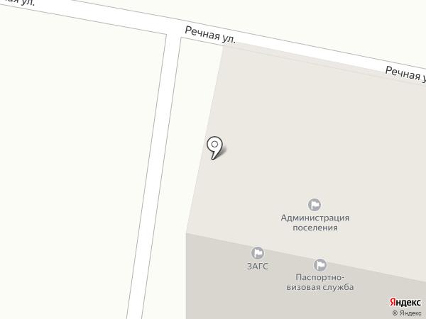 Администрация п.г.т. Анджиевского на карте Анджиевского