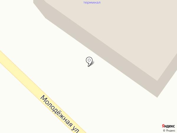 Супермаркет на карте Горячеводского