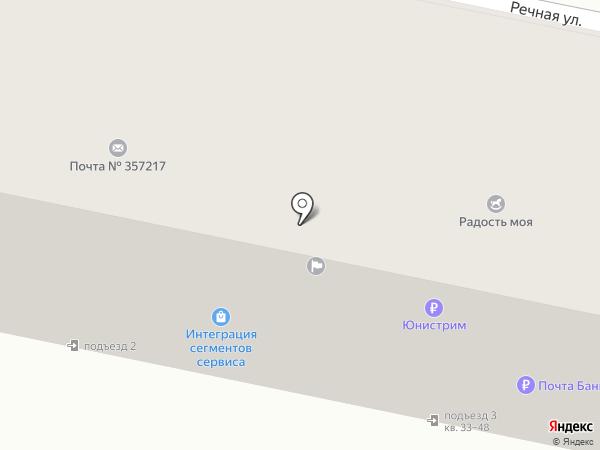 Почтовое отделение на карте Анджиевского