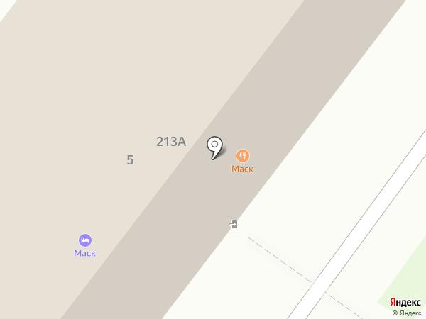 МАСК на карте Железноводска