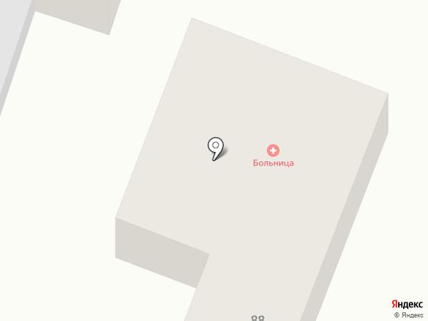 Городская поликлиника №3 на карте Горячеводского