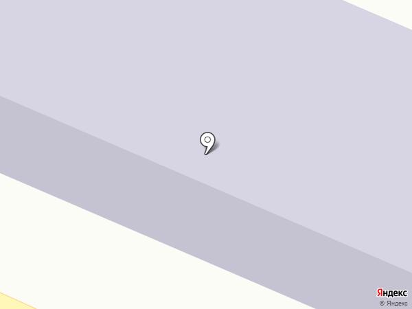 Казачья кадетская средняя общеобразовательная школа №19 на карте Горячеводского