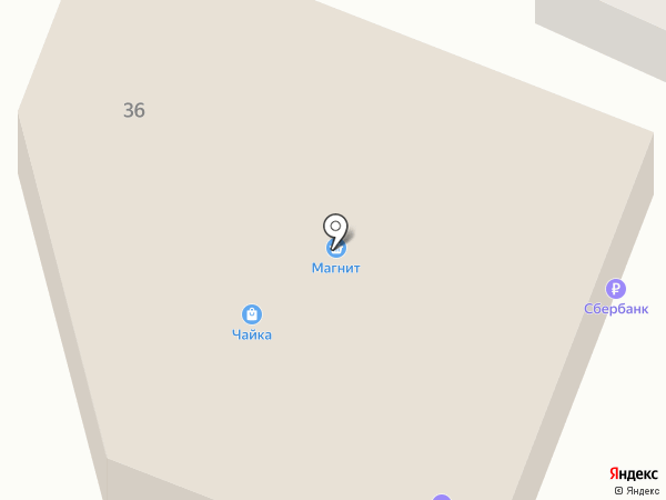 Фараон на карте Горячеводского