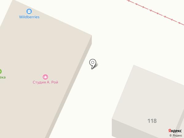 Окна БЕРТА на карте Горячеводского