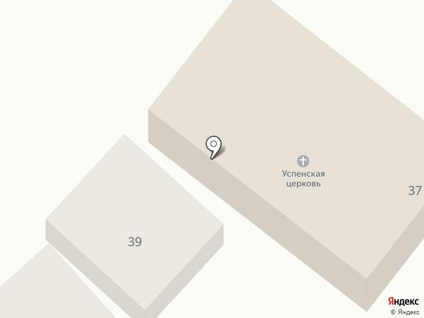 Храм Успения Божией Матери на карте Горячеводского