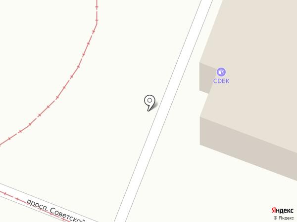 Профи на карте Горячеводского