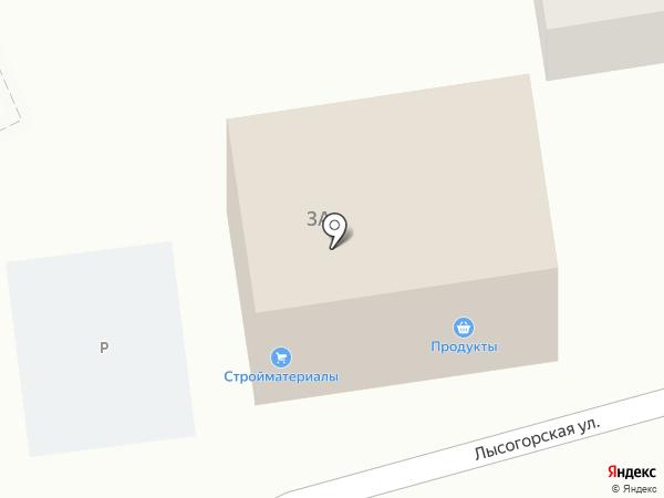 Анюта на карте Горячеводского