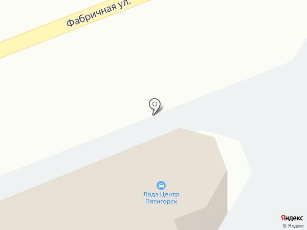 Лада Центр Пятигорск на карте Пятигорска
