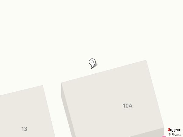 МОТЕЛЬ на карте Пятигорска