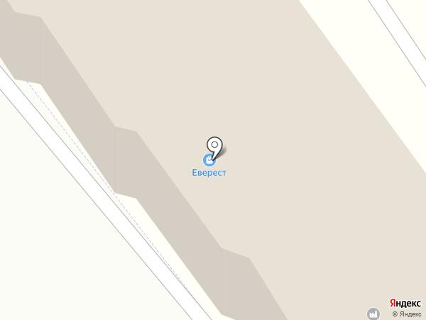 Флоли на карте Пятигорска