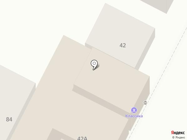 Магазин тканей на карте Минеральных Вод