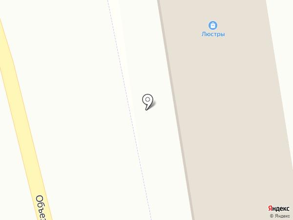 Габриэль на карте Горячеводского