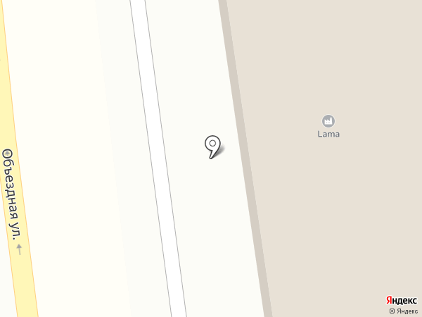 Lama на карте Пятигорска