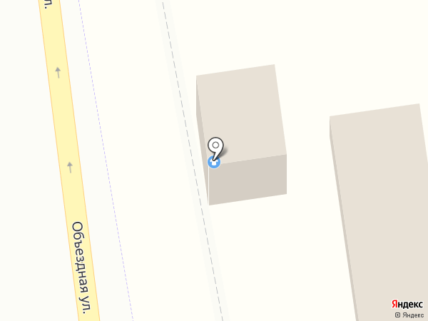 White House на карте Горячеводского