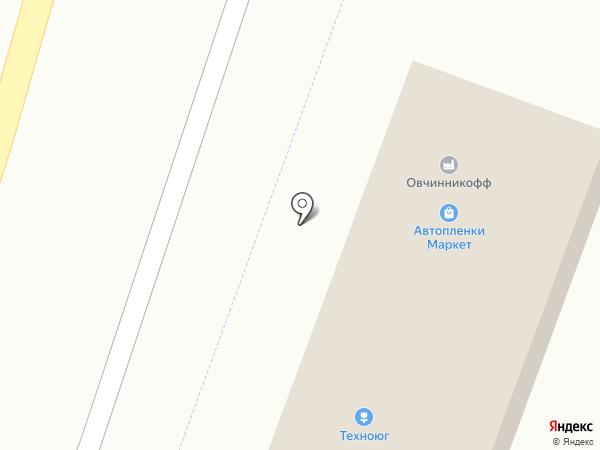 Магазин автопленок на карте Горячеводского