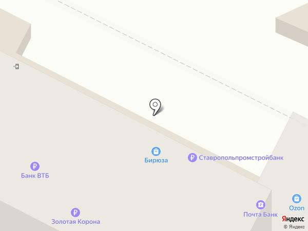 Банкомат, Банк ВТБ 24, ПАО на карте Минеральных Вод