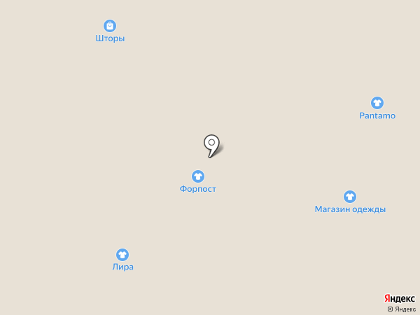 Pantamo на карте Пятигорска