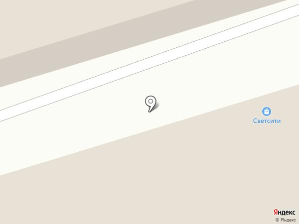 СветСити на карте Пятигорска